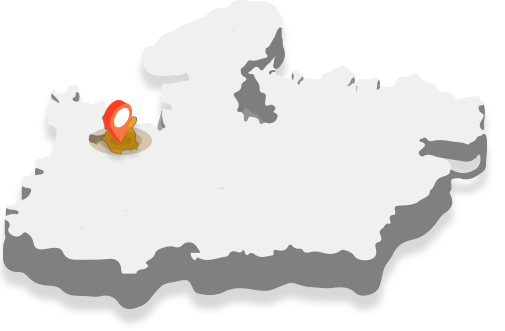 आगर Map Image